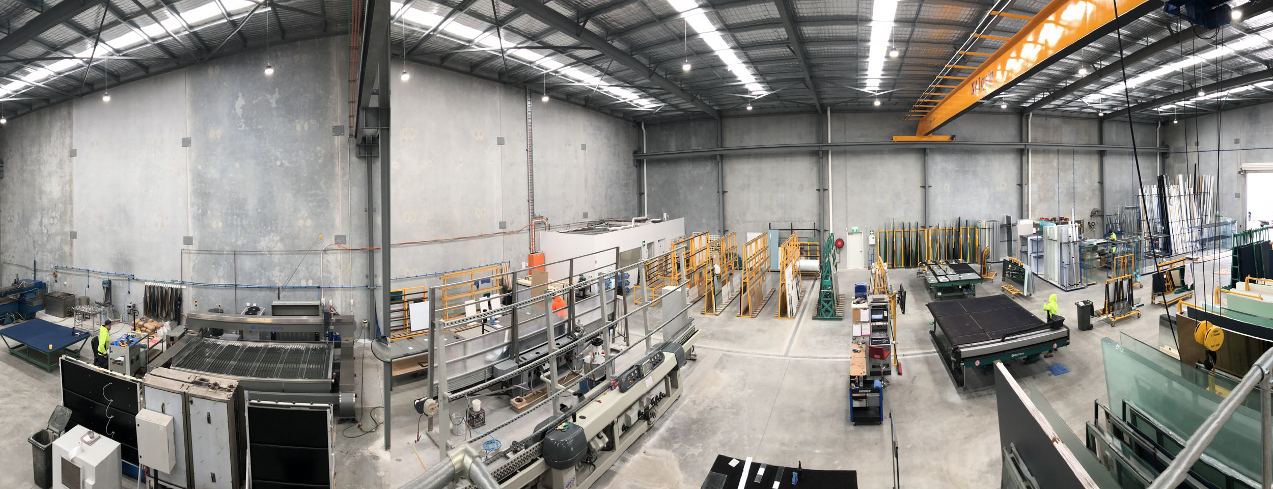 Largest Glazing Facility in WA.