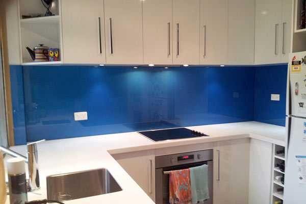 Kitchen Blue Splashback