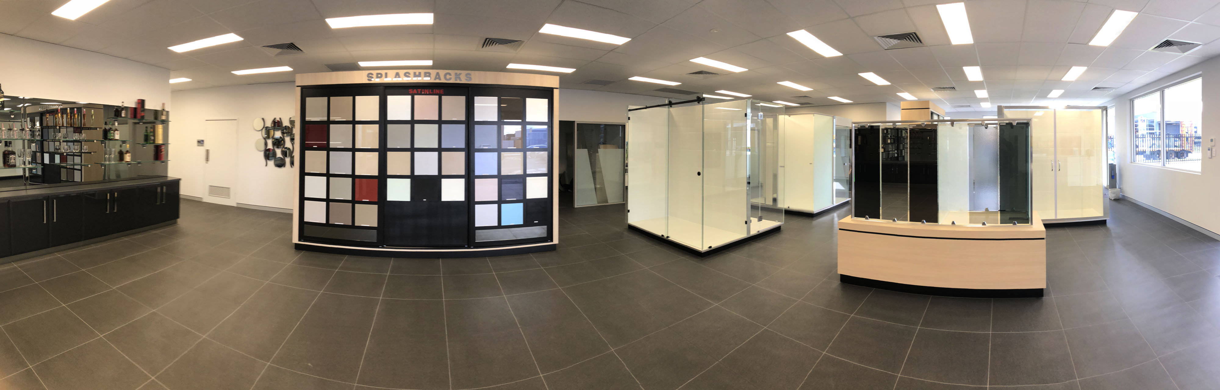Direct internal showroom pano